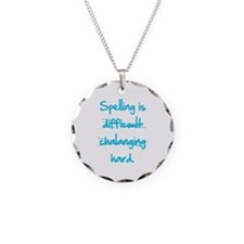 Spelling Necklace