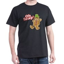 Oh Snap 2 Detailed T-Shirt