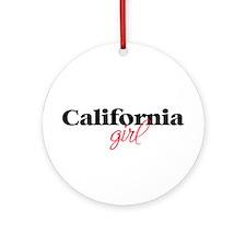 California girl (2) Ornament (Round)