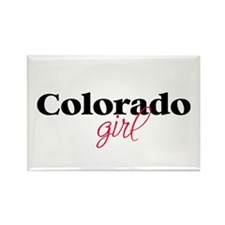 Colorado girl (2) Rectangle Magnet