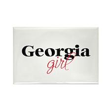 Georgia girl (2) Rectangle Magnet