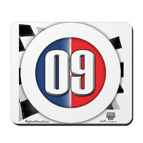 Cars Round Logo 09 Mousepad