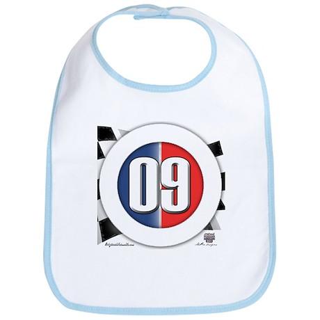 Cars Round Logo 09 Bib