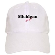 Michigan girl (2) Baseball Cap