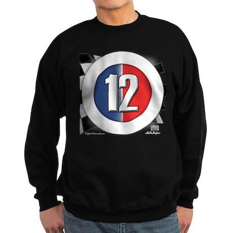 Cars Round Logo 12 Sweatshirt (dark)