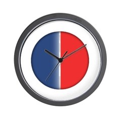 Cars Round Logo Blank Wall Clock