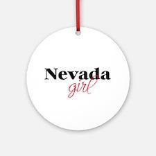 Nevada girl (2) Ornament (Round)