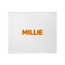 Millie in Movie Lights Throw Blanket