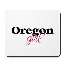 Oregon girl (2) Mousepad