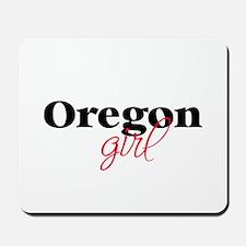 Oregon girl (2) Mousepad