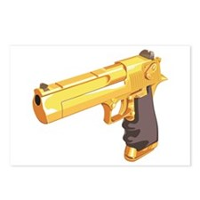 Gold Gun Postcards (Package of 8)