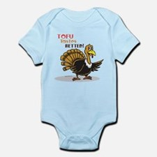 Tofu Not Turkey Infant Bodysuit