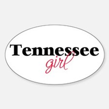 Tennessee girl (2) Oval Decal