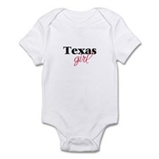 Texas girl (2) Infant Creeper