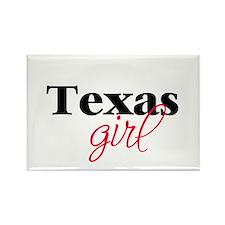 Texas girl (2) Rectangle Magnet