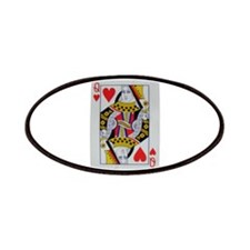 QUEEN OF HEARTS Patches