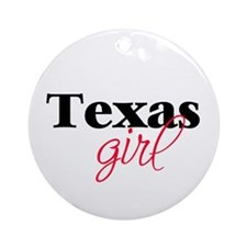 Texas girl (2) Ornament (Round)