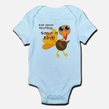 Save a Turkey Infant Bodysuit