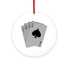FOUR ACES™ Ornament (Round)
