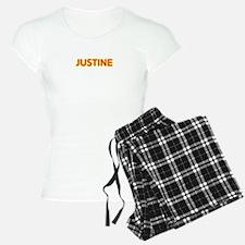 Justine in Movie Lights Pajamas