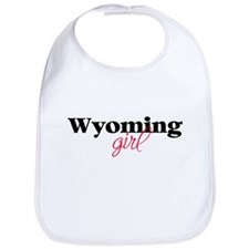 Wyoming girl (2) Bib