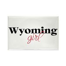 Wyoming girl (2) Rectangle Magnet