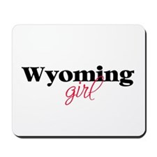 Wyoming girl (2) Mousepad