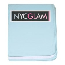 NYC Glam baby blanket