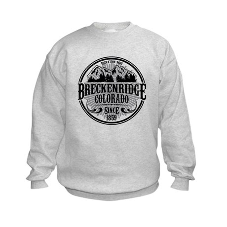 Breckenridge Old Circle Kids Sweatshirt