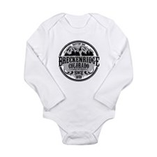 Breckenridge Old Circle Long Sleeve Infant Bodysui