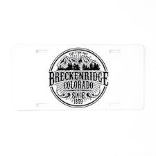 Breckenridge Old Circle Aluminum License Plate