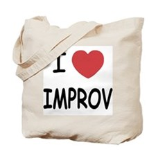 I heart improv Tote Bag