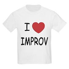 I heart improv T-Shirt