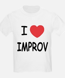 I heart improv T-Shirt