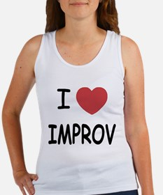 I heart improv Women's Tank Top