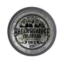 Breckenridge Colorado Wall Clock
