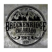 Breckenridge Colorado Tile Coaster