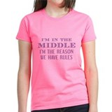 Im the reason we have rules Women's Dark T-Shirt