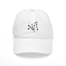 Music notes Baseball Cap