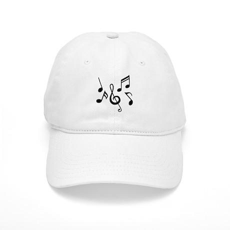 Music notes Cap