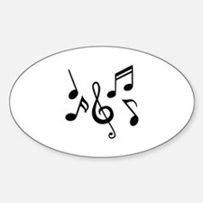 Music notes Decal
