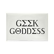 Geek Goddess Rectangle Magnet