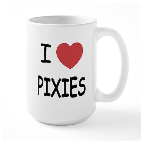 I heart pixies Large Mug