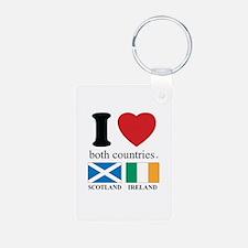 SCOTLAND-IRELAND Keychains