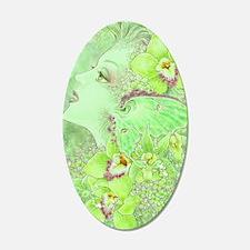 Green Fairy 22x14 Oval Wall Peel