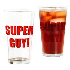 super guy! Drinking Glass
