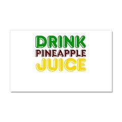 Drink Pineapple Juice Car Magnet 20 x 12