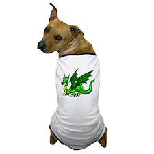 Green Dragon Dog T-Shirt