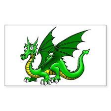 Green Dragon Decal