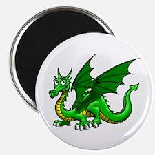 "Green Dragon 2.25"" Magnet (10 pack)"